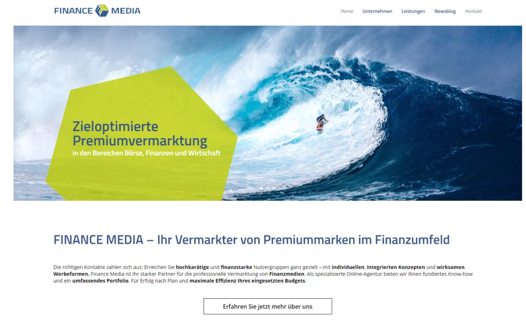 FMG mit neuem Webauftritt